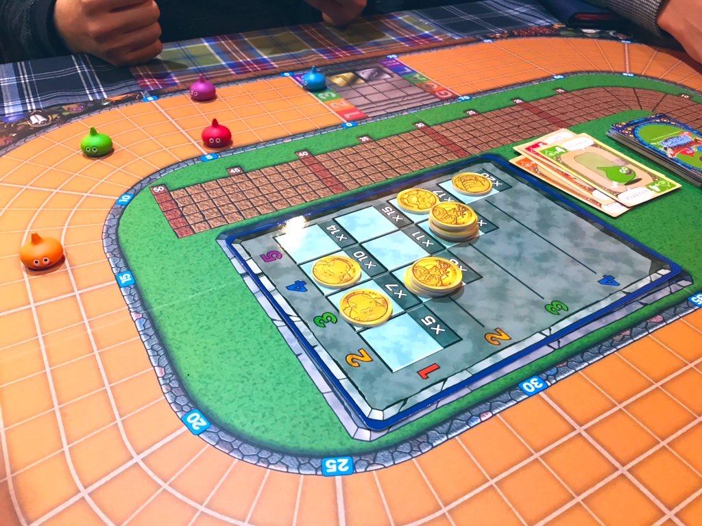 ドラゴンクエストボードゲーム|スライムレースのゲーム内容