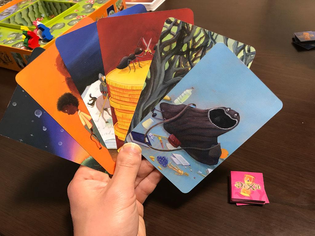 ディクシットのカードたち